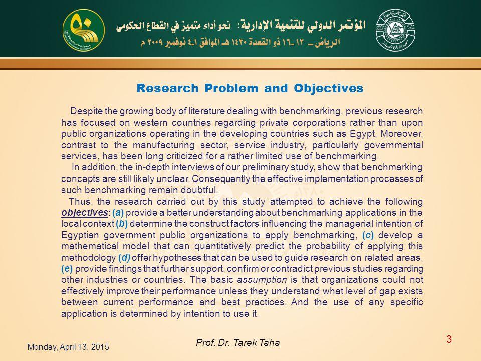 Monday, April 13, 2015 3 Prof. Dr.