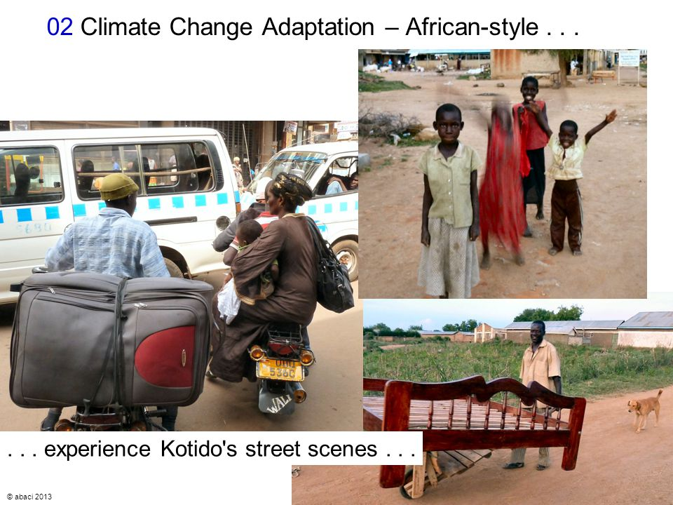 © abaci 2013 7 02 Climate Change Adaptation – African-style......