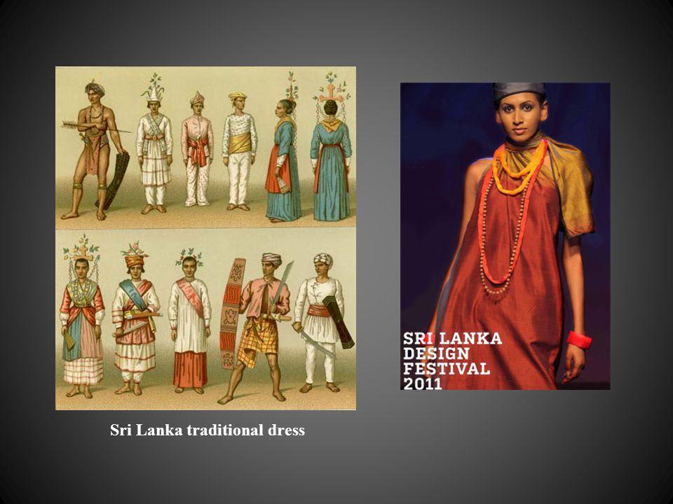 Sri Lanka traditional dress