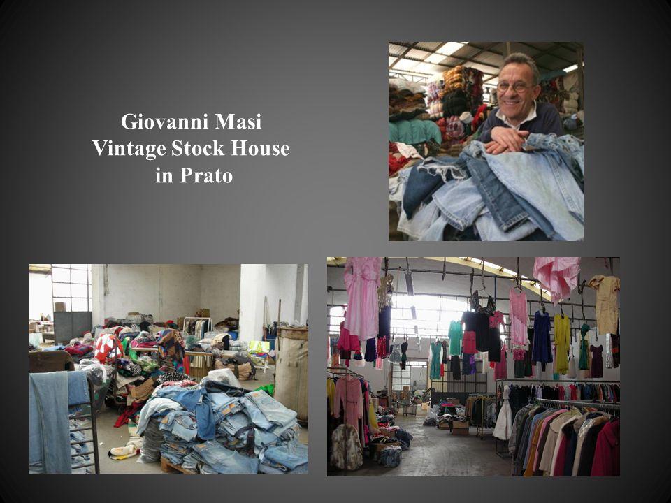 Giovanni Masi Vintage Stock House in Prato