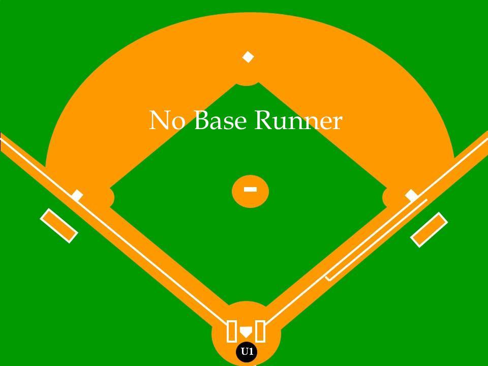 No Base Runner