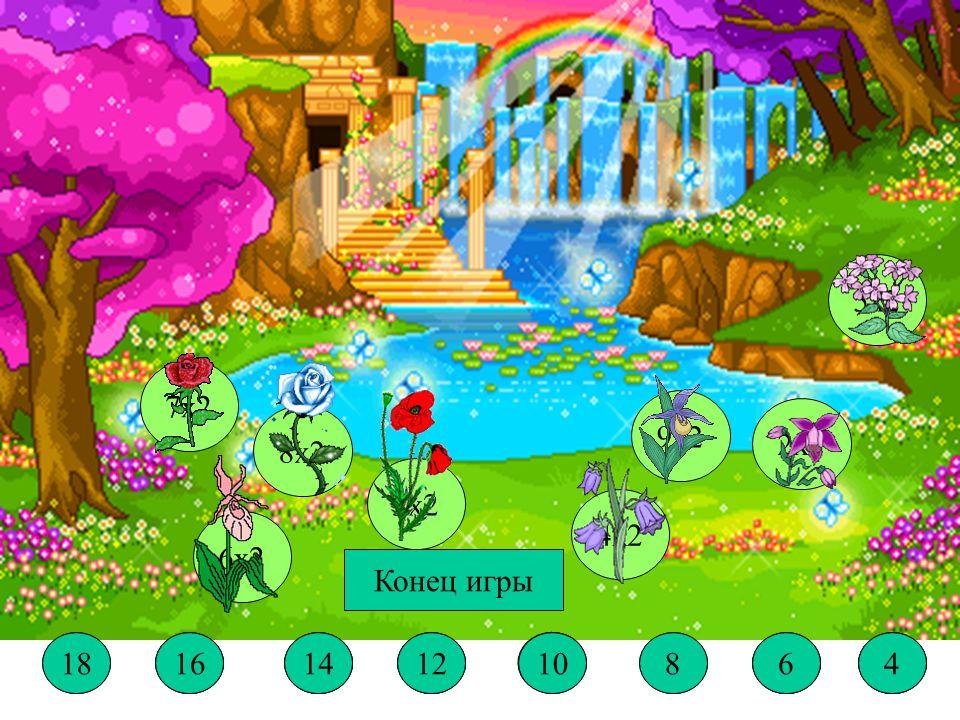 Вырасти цветы (умножение на 2) Кто пришёл в гости к Белоснежке.