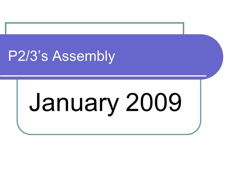 P2/3's Assembly January 2009