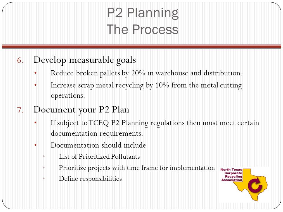 P2 Planning The Process 6.