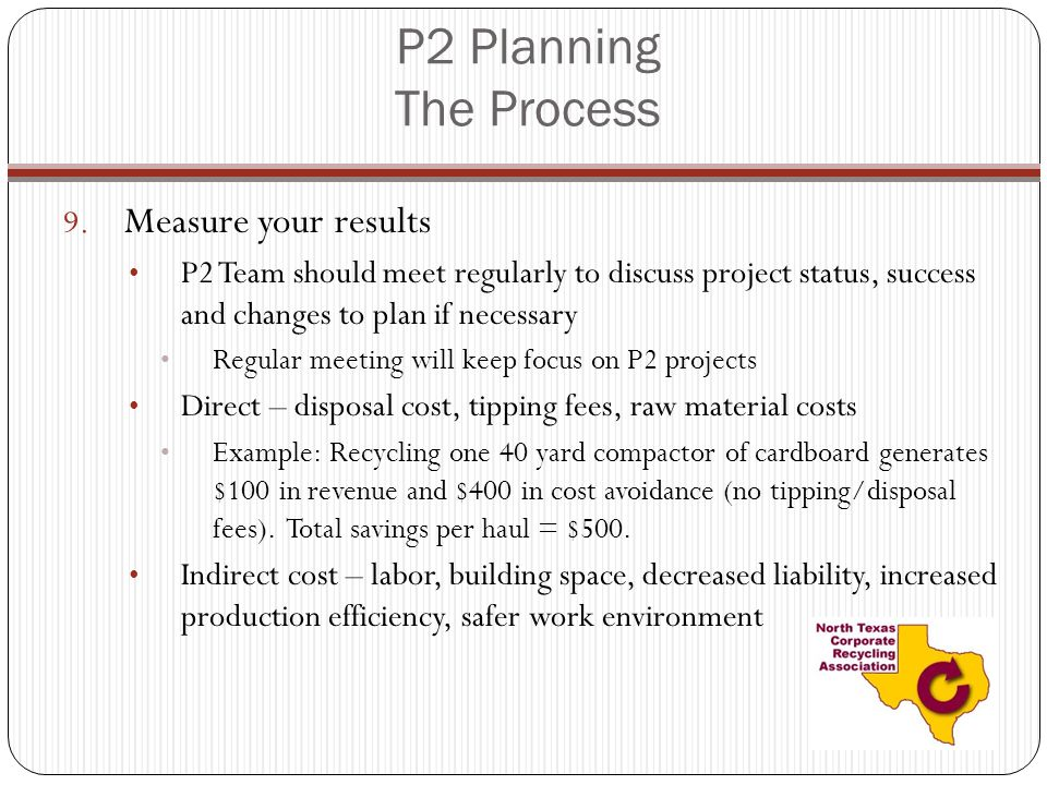 P2 Planning The Process 9.