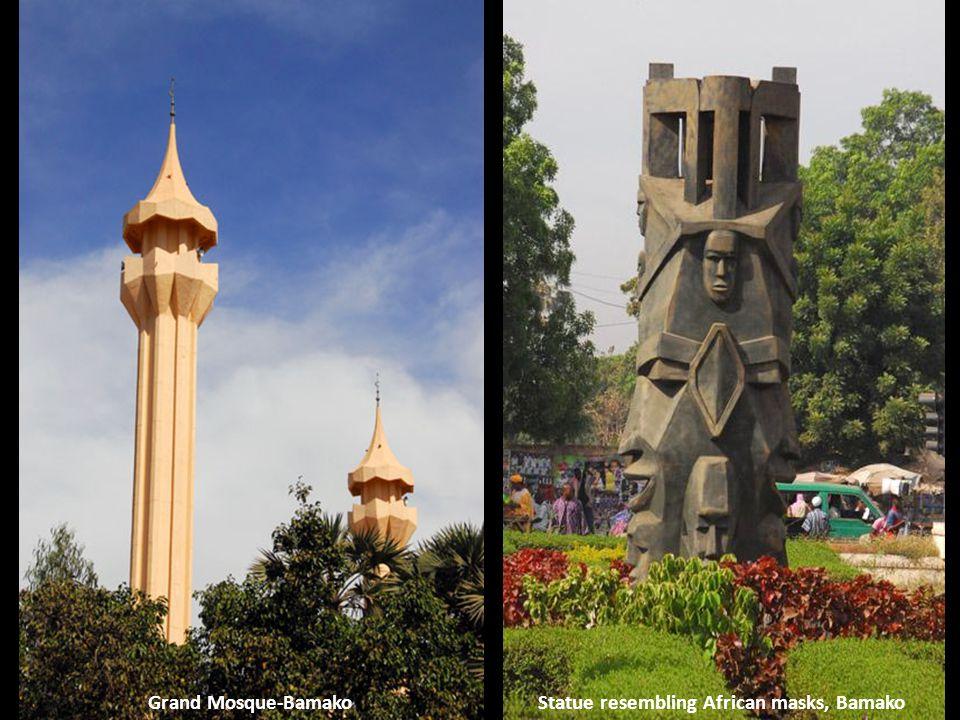 Monument, Avenue Al Qoods, BamakoAfrica Tower, Bamako