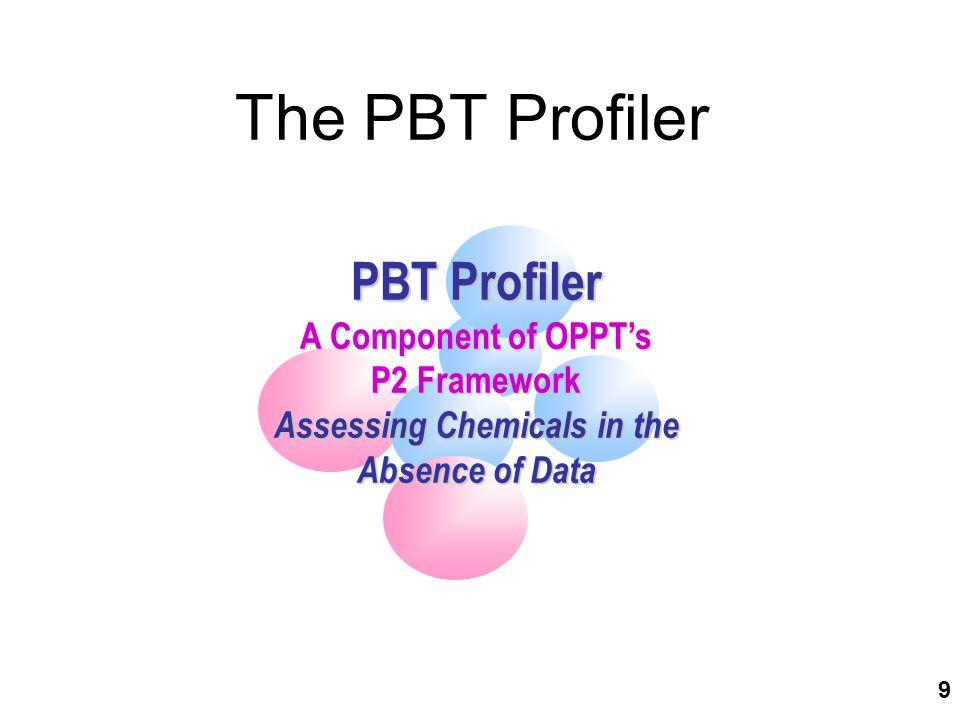 50 PBT Profiler Results for PentaDBE