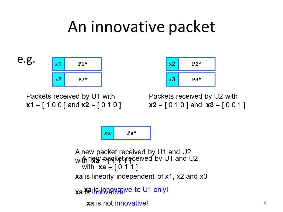 9 An innovative packet e.g.