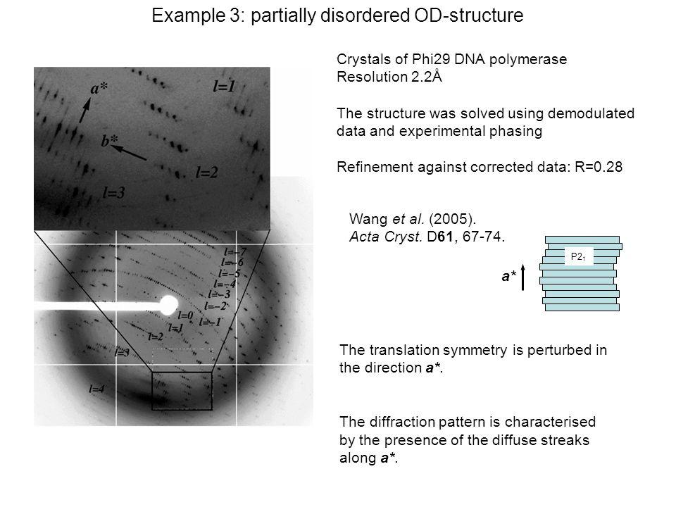 Wang et al. (2005). Acta Cryst. D61, 67-74.