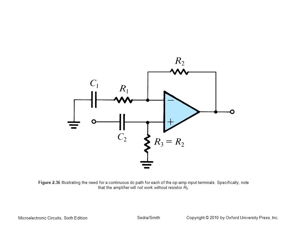Microelectronic Circuits, Sixth Edition Sedra/Smith Copyright © 2010 by Oxford University Press, Inc. Figure 2.36 Illustrating the need for a continuo