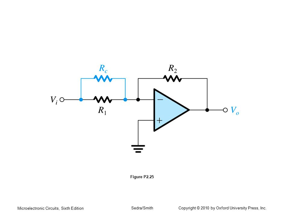 Microelectronic Circuits, Sixth Edition Sedra/Smith Copyright © 2010 by Oxford University Press, Inc. Figure P2.25