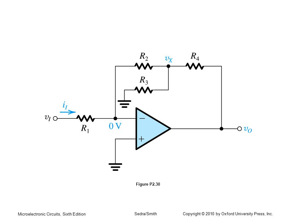 Microelectronic Circuits, Sixth Edition Sedra/Smith Copyright © 2010 by Oxford University Press, Inc. Figure P2.30
