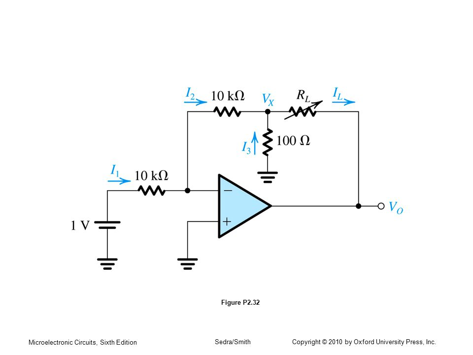 Microelectronic Circuits, Sixth Edition Sedra/Smith Copyright © 2010 by Oxford University Press, Inc. Figure P2.32