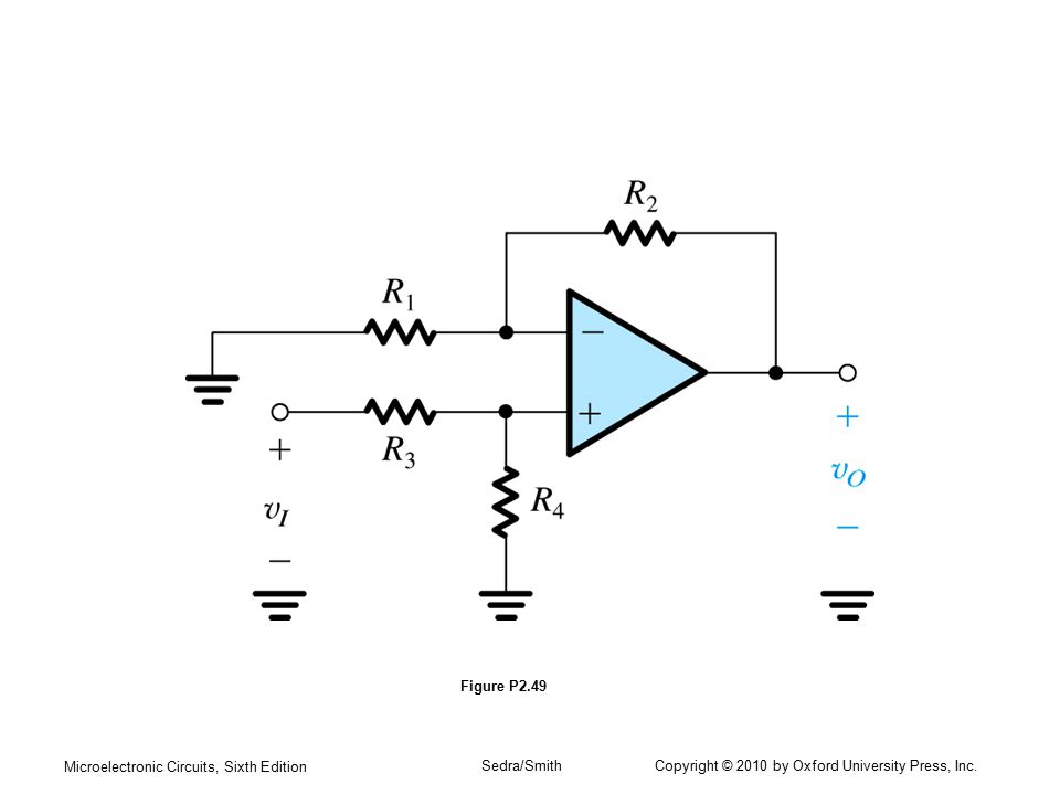 Microelectronic Circuits, Sixth Edition Sedra/Smith Copyright © 2010 by Oxford University Press, Inc. Figure P2.49