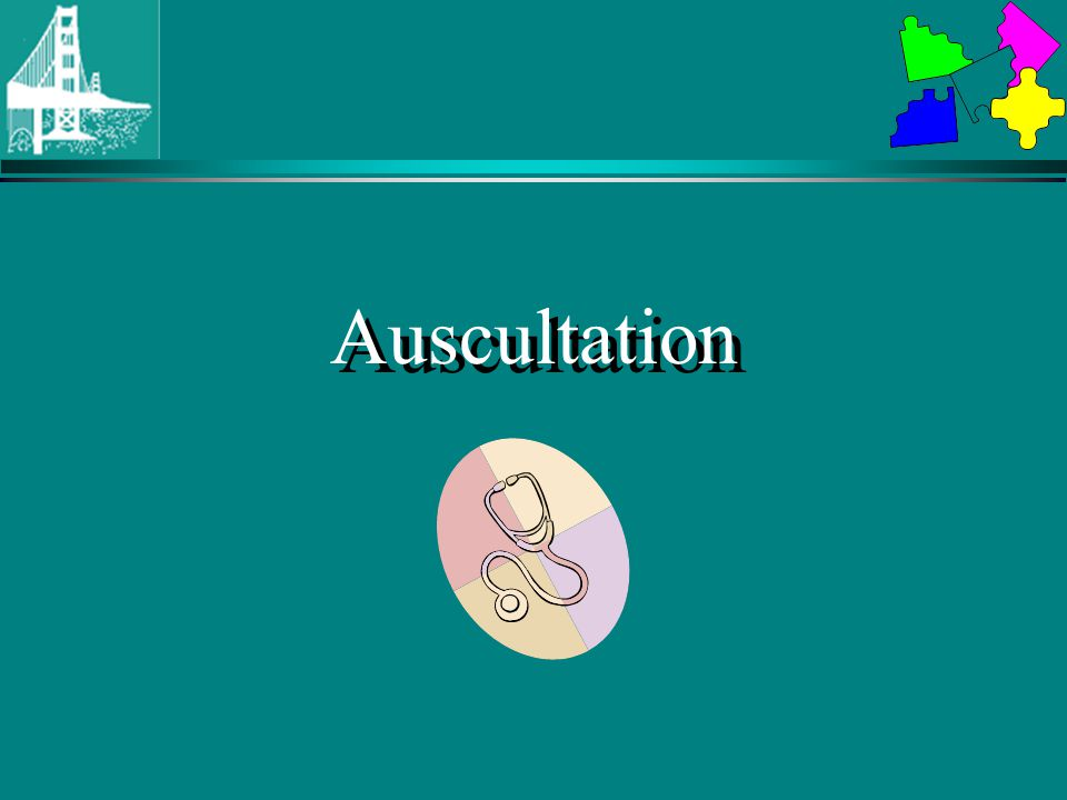 Auscultation Aortic area 2nd left intercostal space (URSB) –compare S1 to S2-S1 should be softer.