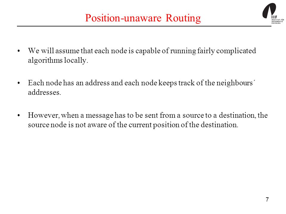 68 Basic Strategy of ZRP Intrazone Routing: First, the packet is sent within the routing zone of the source node to reach the destination node or peripheral nodes.