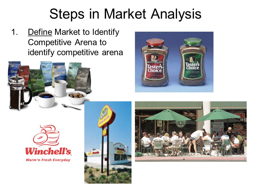 Steps in Market Analysis 2.Segment the Market to Determine Competitive tactics.