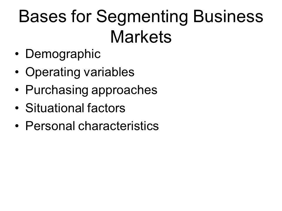 Selecting and Entering Market Segments P = Product M = Market Single-segment concentration P1 P2 P3 M1 M2 M3 Product specialization M1 M2 M3 P1 P2 P3 Selective specialization M1 M2 M3 P1 P2 P3