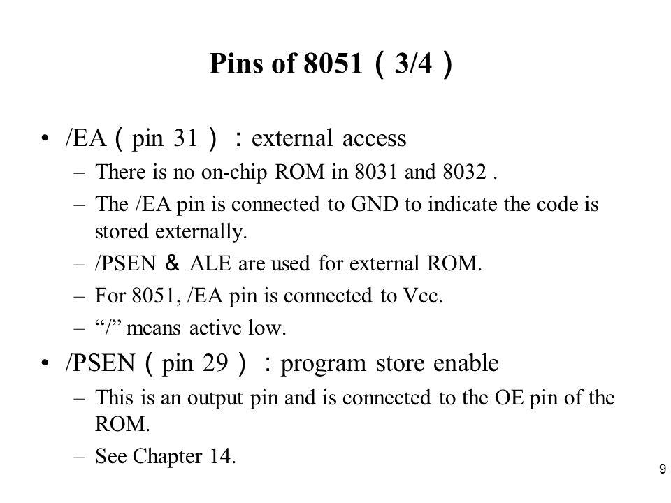 50 Way 1 Send data to Port 1 through ACC : BACK: MOV A,#55H ;A=01010101B MOV P1,A ACALL DELAY MOV A,#0AAH ;A=10101010B MOV P1,A ACALL DELAY SJMP BACK