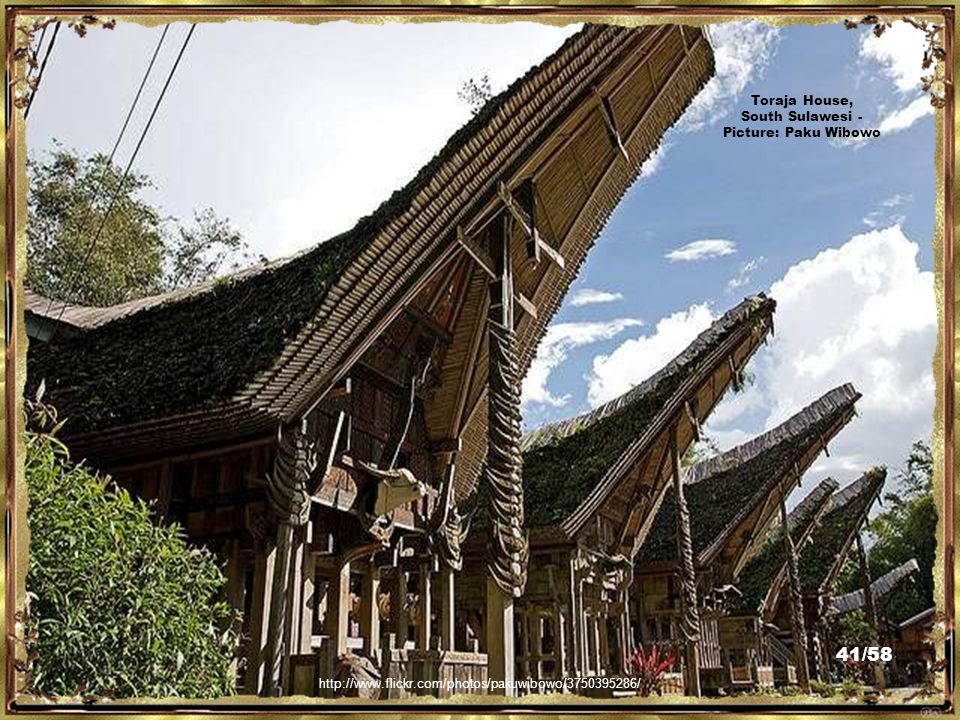 http://www.flickr.com/photos/trustedsign/2437768935/ Toraja Village, South Sulawesi - Picture: Maruf Hasan 40/58