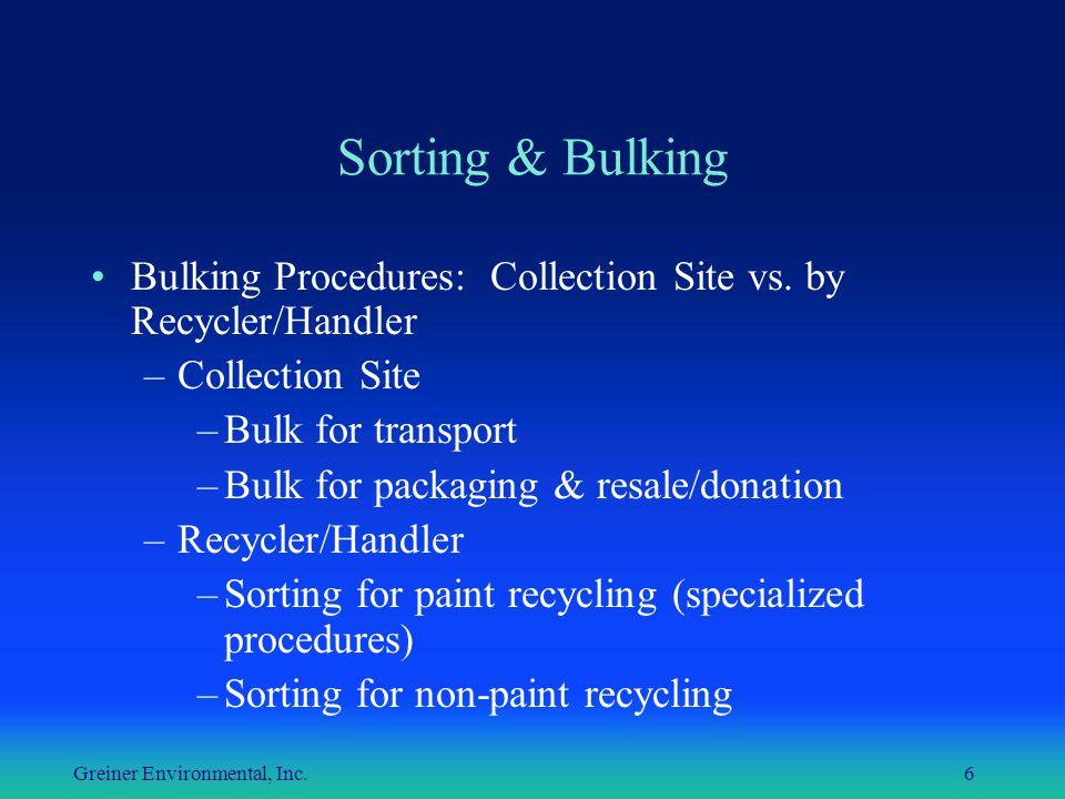 Greiner Environmental, Inc.
