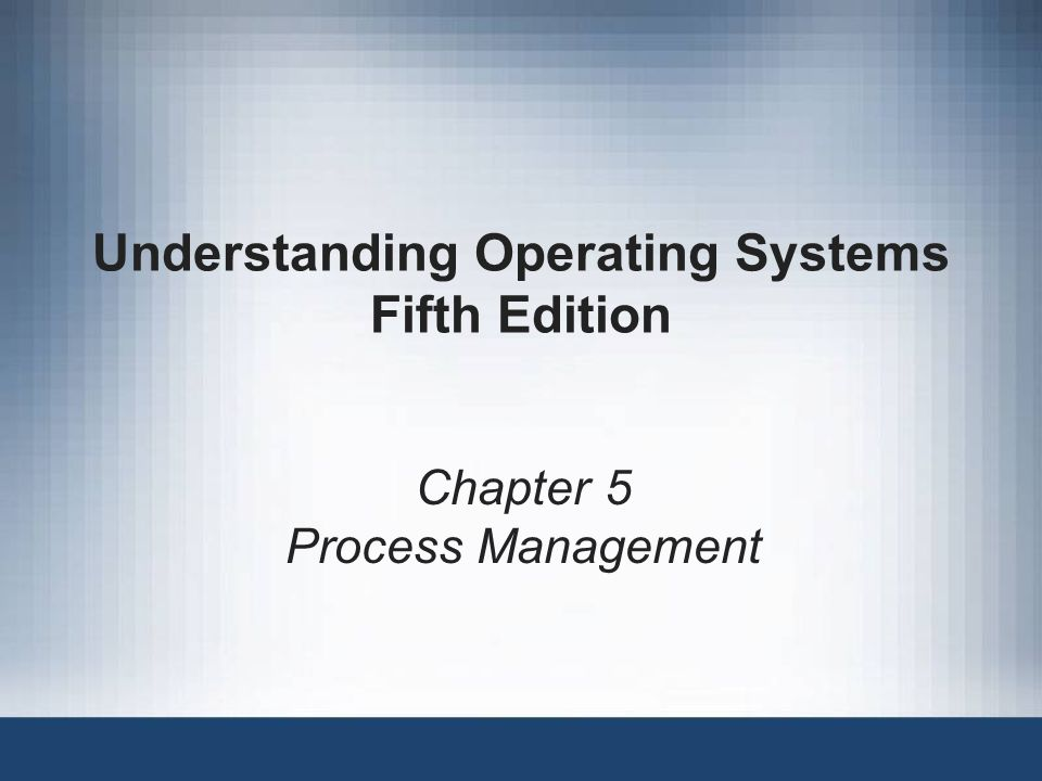 Understanding Operating Systems, Fifth Edition32 Modeling Deadlocks (continued) Examples studied so far involved the allocation of one or more resources of different types (e.g.