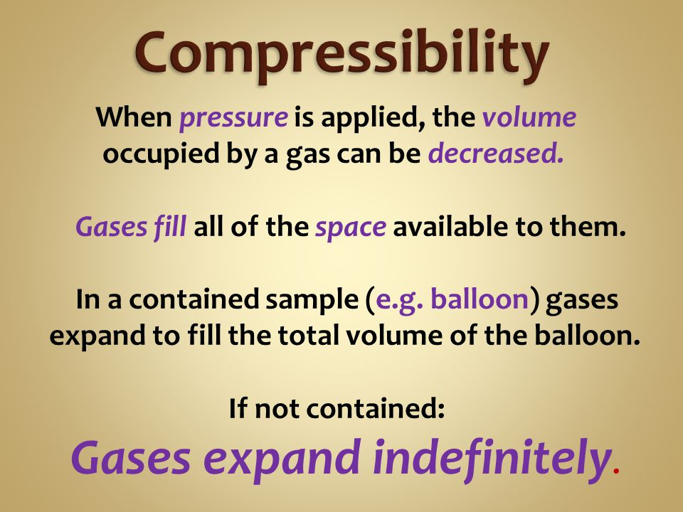 The pressure inside a compressed gas cylinder is 134 atm @ 25 °C.