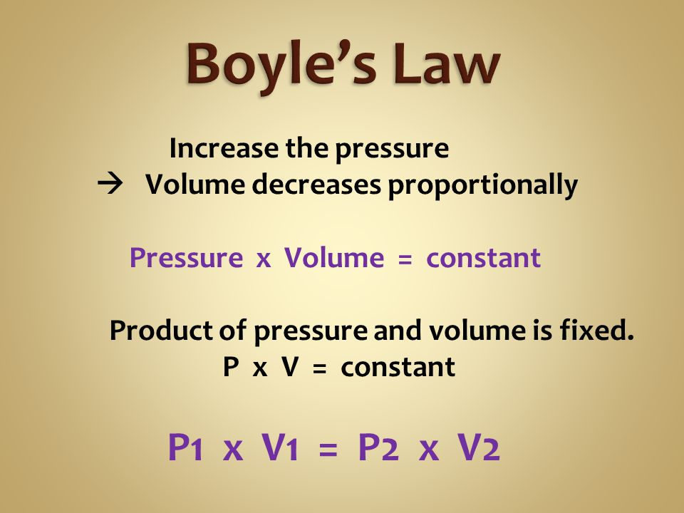 Compressed gas cylinder Pressure = 135 atm Volume = 15.0 liters What volume the gas will occupy at 1.00 atm .