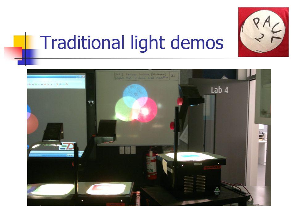 Traditional light demos