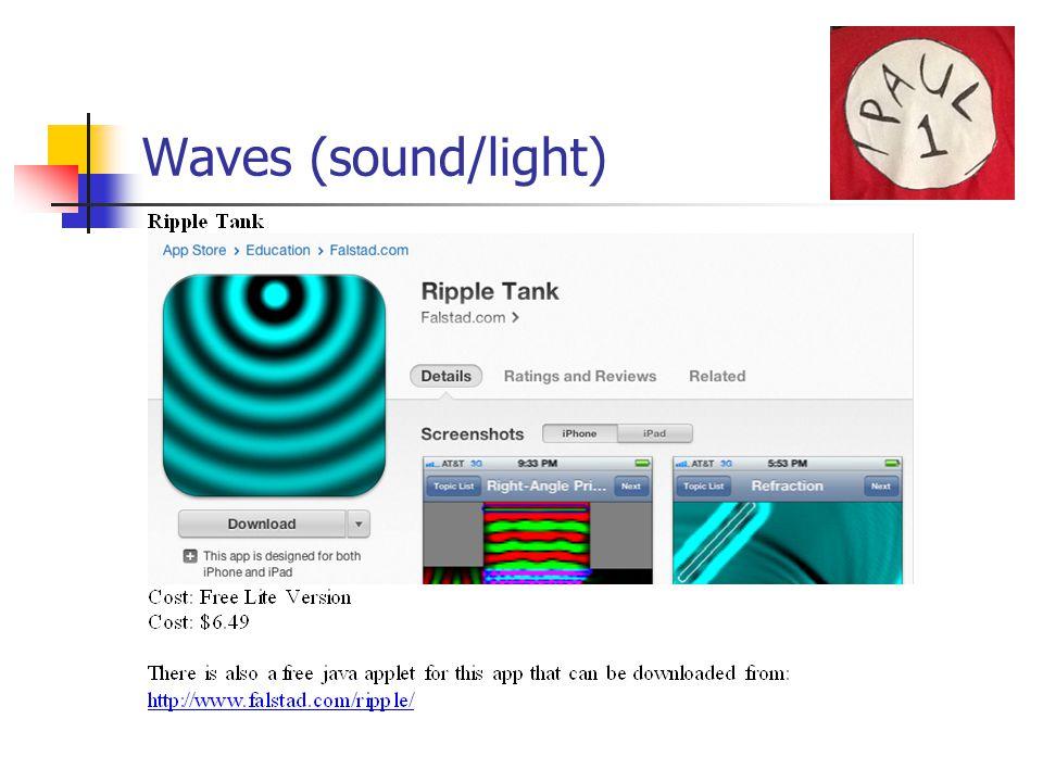 Waves (sound/light)