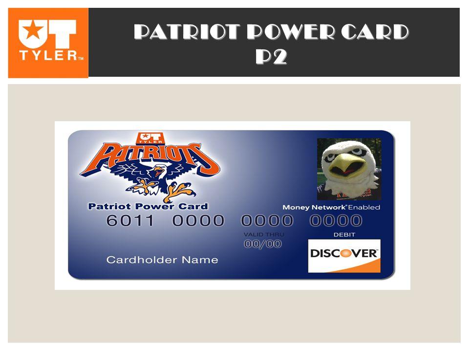 PATRIOT POWER CARD P2