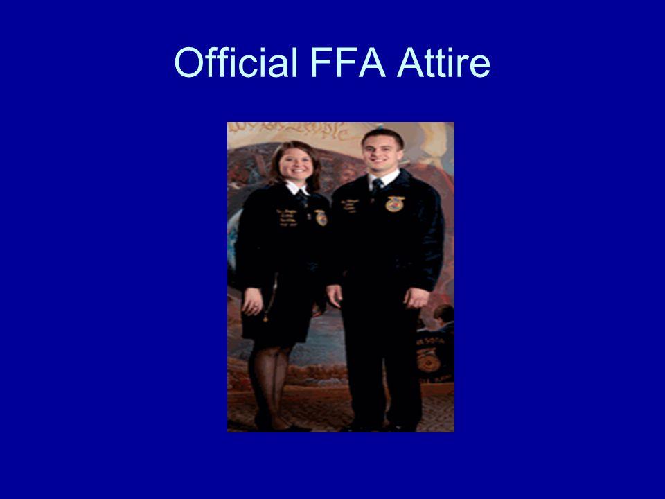 Official FFA Attire