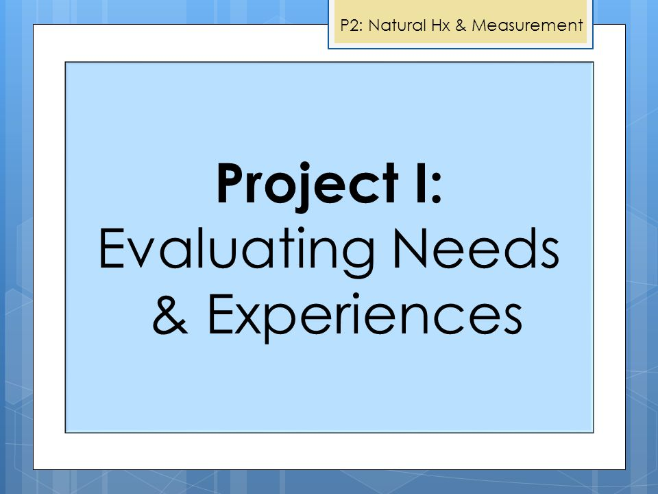 Project I: Evaluating Needs & Experiences Project II: Measurement of Mobility Outcomes Project V: Wheelchair Skills Program For Powered Mobility Proje