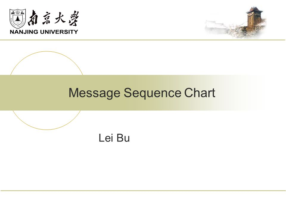 Lei Bu Message Sequence Chart
