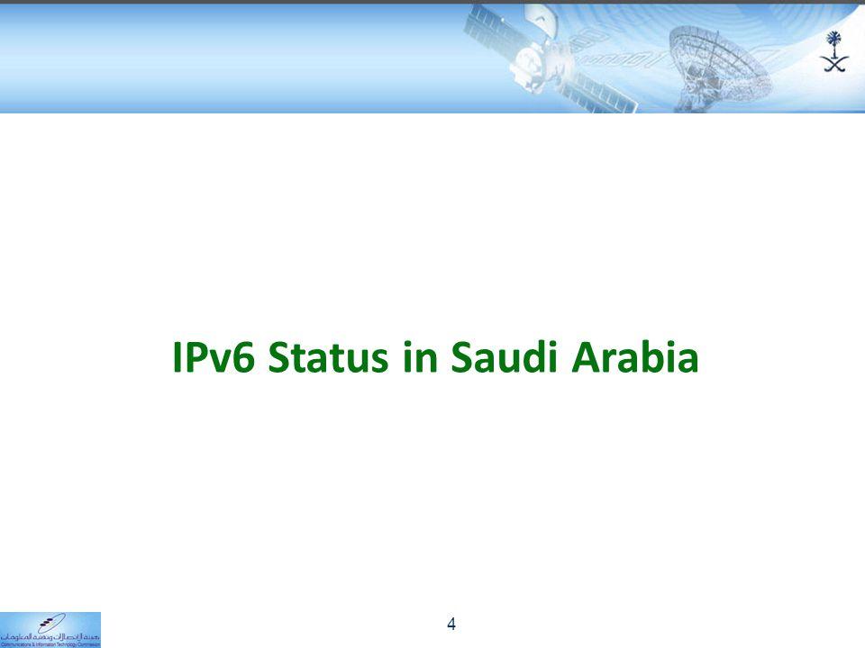 IPv6 Status in Saudi Arabia 4