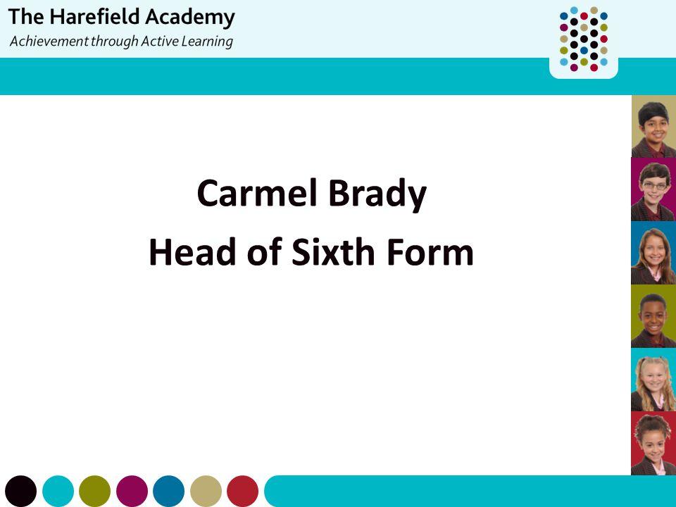 Carmel Brady Head of Sixth Form