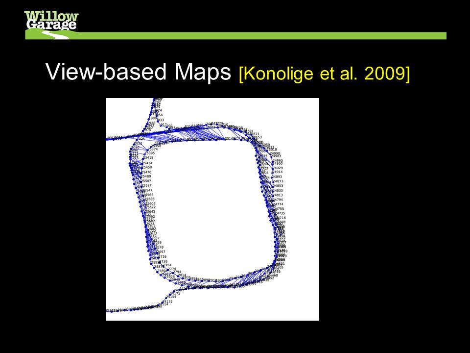 View-based Maps [Konolige et al. 2009] Performance on Indoor dataset