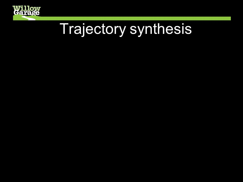 Trajectory synthesis