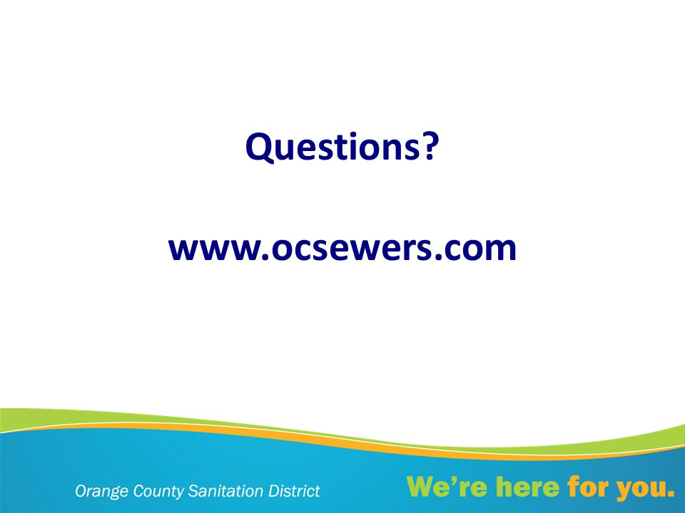 Questions www.ocsewers.com