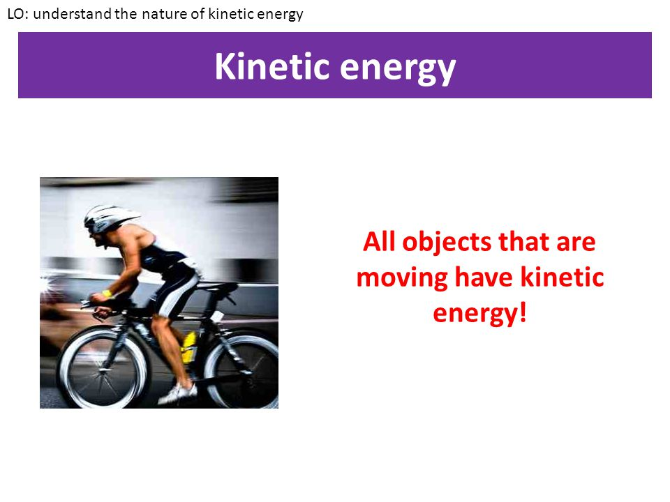 Example 2 An object gains gravitational potential energy of 300J.