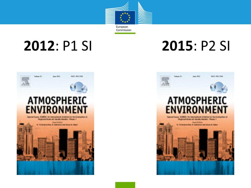 2015: P2 SI2012: P1 SI