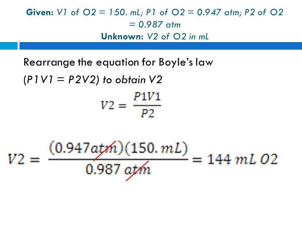 5 - 30 Avogadro's law If you have more moles of a gas, it takes up more space at the same temperature and pressure.
