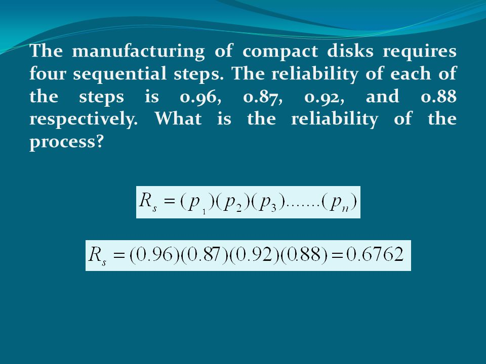The system reliability for a two-component parallel system is 0.99968.