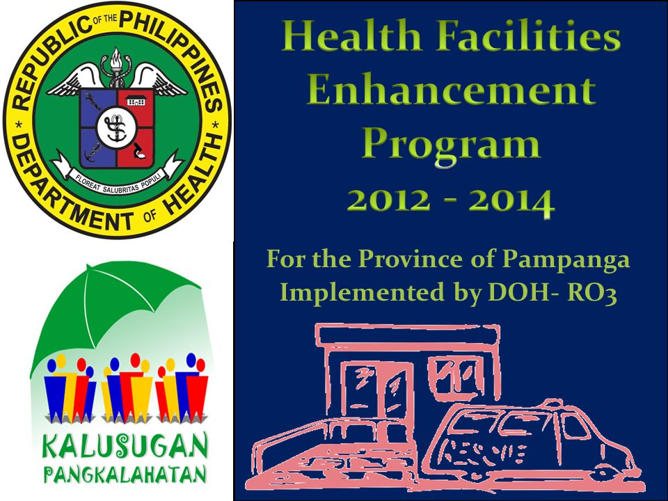Implemented by DOH- RO3 For the Province of Pampanga