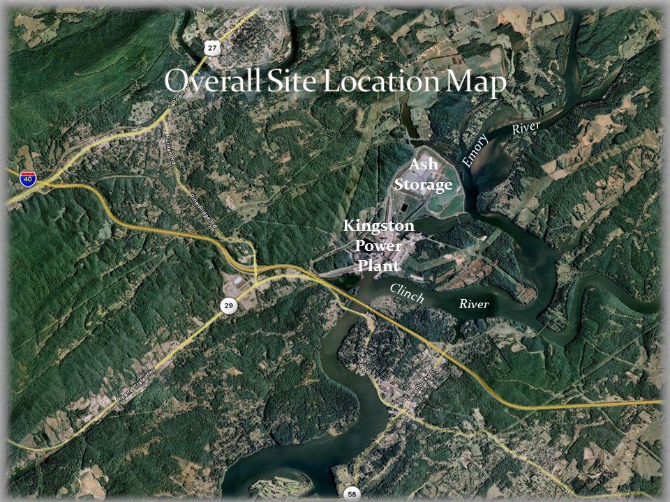 Kingston Power Plant Ash Storage Clinch Emory River
