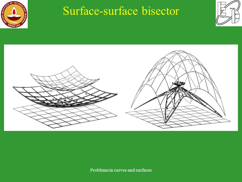 Surface-surface bisector Problems in curves and surfaces