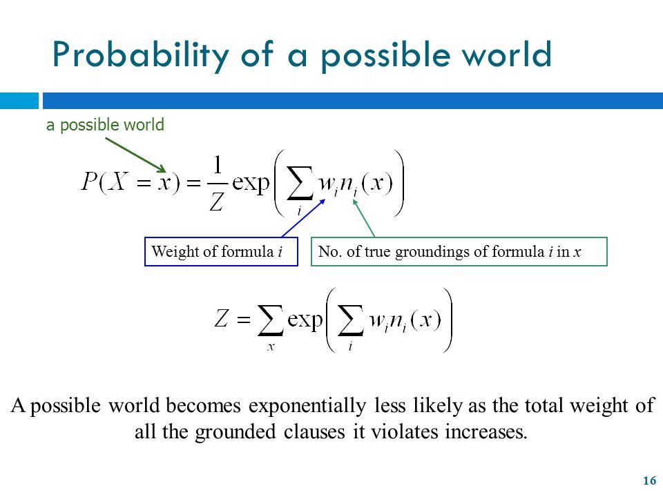 Weight of formula iNo.
