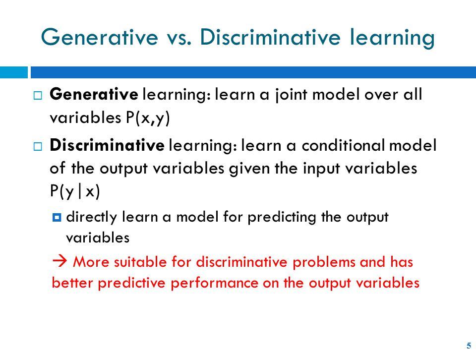 Generative vs.