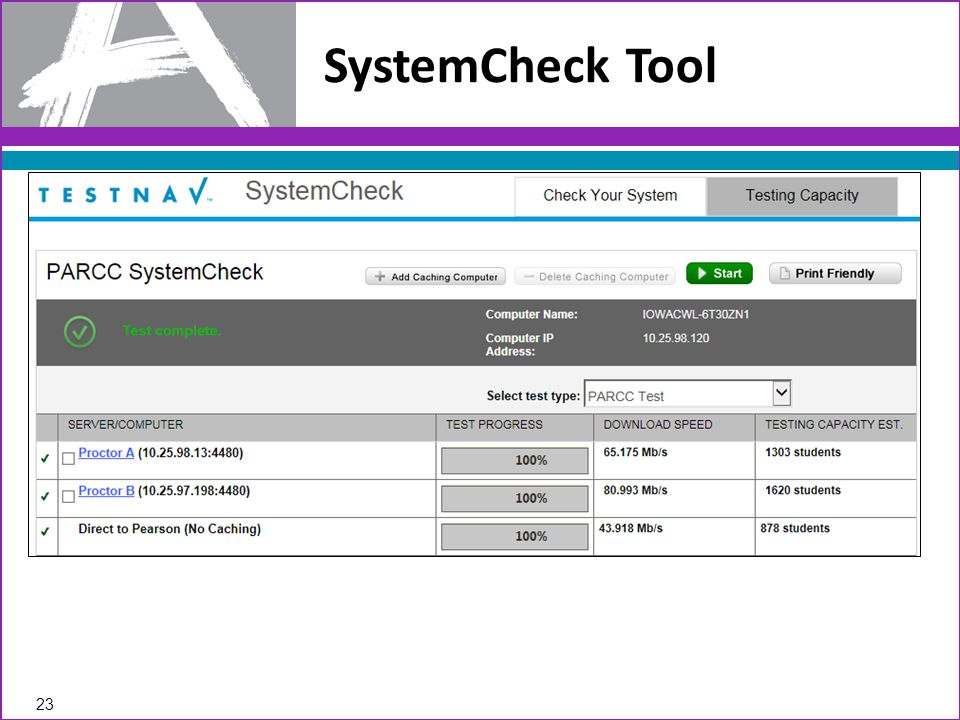SystemCheck Tool 23