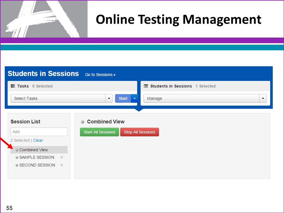 Online Testing Management 55
